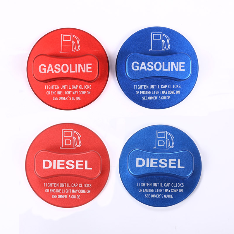 Alloy Gasoline Diesel Fuel Tank Cap Cover Trim For <font><b>Mercedes</b></font> Benz A/B/C/E/S/CLA/GLK/GLC Class W204 W205 W212 W213 <font><b>W176</b></font> W222 X253 image