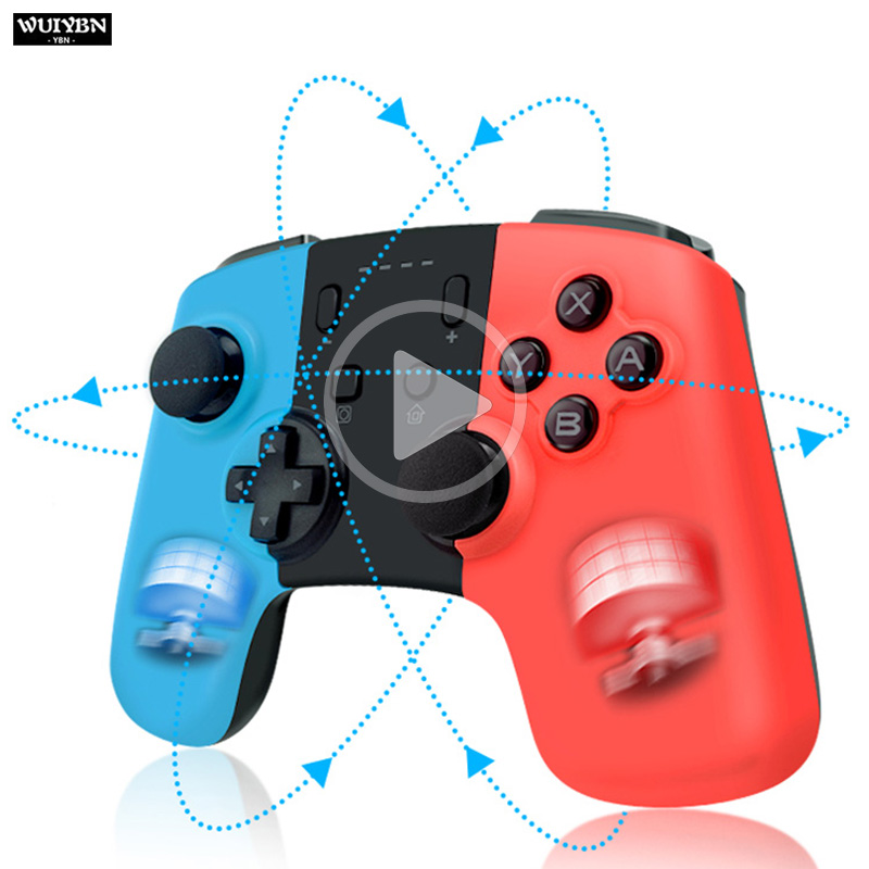 WUIYBN Wireless Bluetooth Controller Gamepad For Nintend Switch Game Joystick For Switch Console Controllers