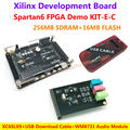 FPGA Демо Доска Xilinx Spartan6 XC6SLX9 (256 М SDRAM EEPROM FLASH) + WM8731 Модуль Аудио + USB Скачать кабель = Spartan6 XC6SLX9 KIT-E-C