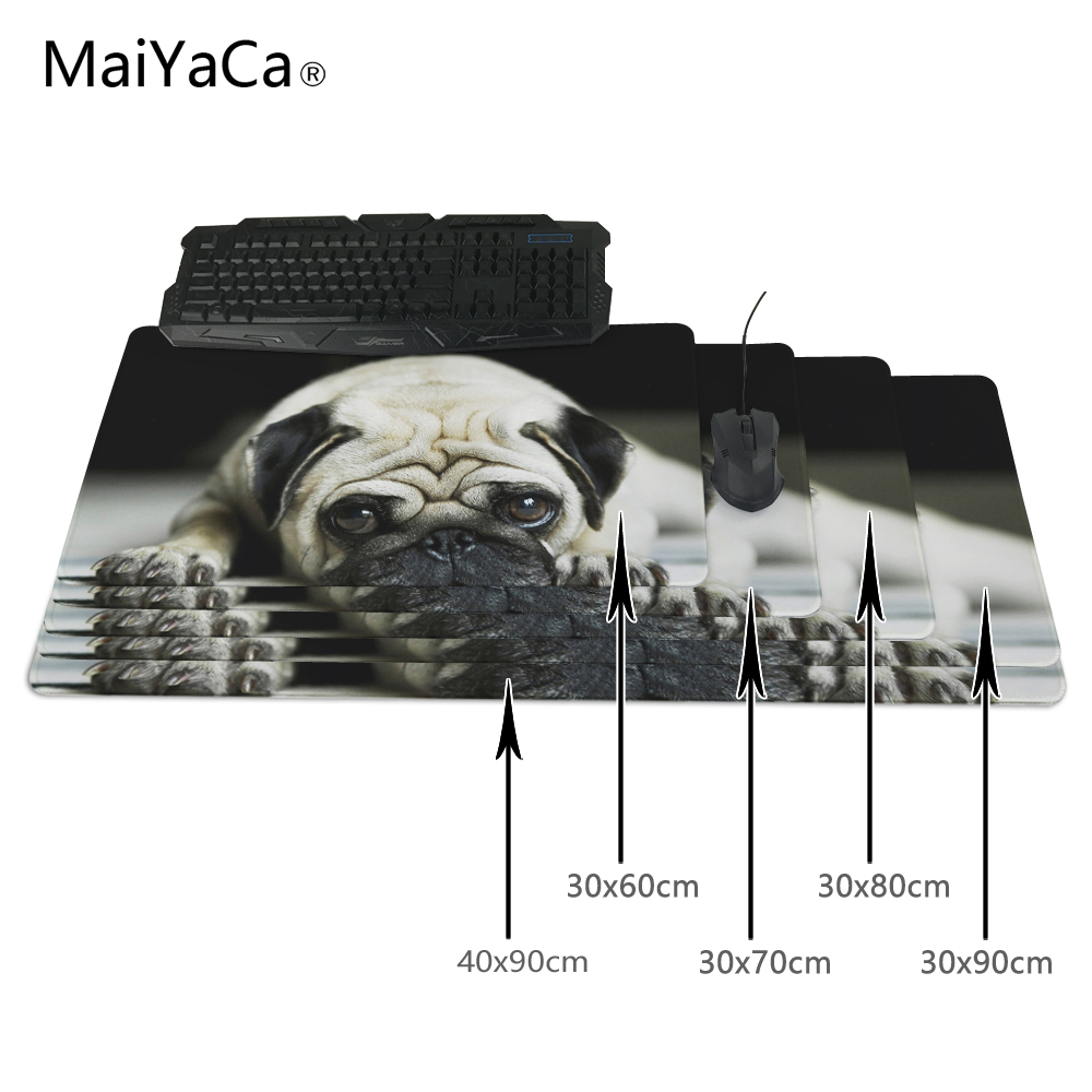 MaiYaCa Desktop Pad Optical Soft Wallpaper Funny Dog 300X700X2mm and 400X900X2mm New Arrivals Mouse Pads