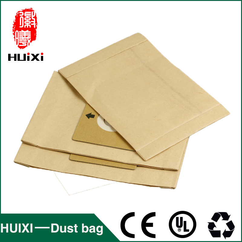 15pcs Universal vacuum cleaner paper dust bags vacuum cleaner change bags with high quality for HR6325 HR6326 SC-460 SC-Y120 etc