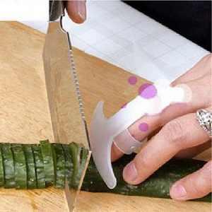 1 PC Dapur Gadget Desain Keamanan Makanan Pisau Potong Sayur Palm Rest Anti-Cut Jari Pelindung Penjaga Tangan