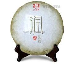 *King Tea*2013 TAE TEA DaYi RunPin Beeng Cake 357g YunNan MengHai Pu'erh Ripe Tea Cooked / Matured / Fermented / Shou Cha