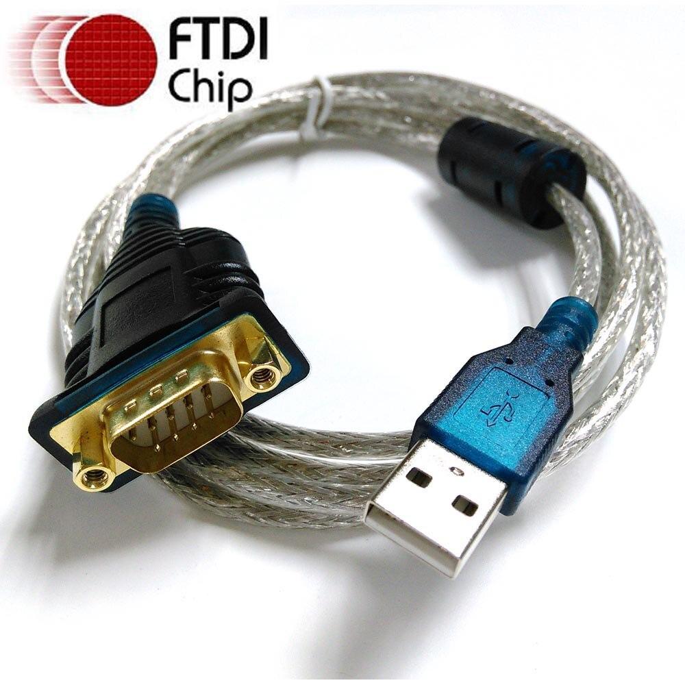 Ftdi cabo usb rs232 com db9 macho pinagem completa compatível com ...