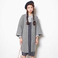 2017 Autumn New Sweater Korean Elasticity Was Thin Round Collar Slim Shirt Female A153
