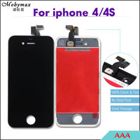 10PCS LOT AAA No Dead Pixel For IPhone 4s 4 4g LCD Display Screen Assembly Touch
