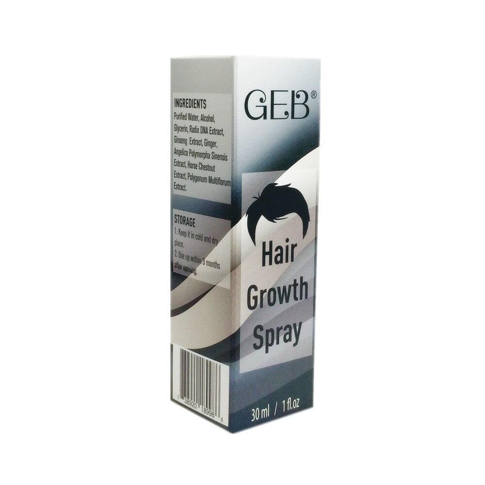GEB Hair Growth Spray Pro Өсімдік Формуласы - Шаш күтімі және сәндеу - фото 2