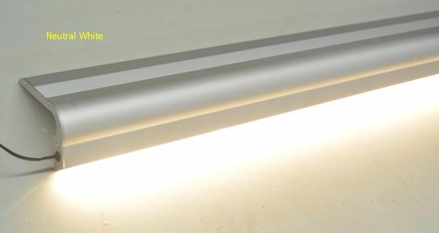 8 m/partij led trap verlichting profiel voor thuis trappen & cinema ...