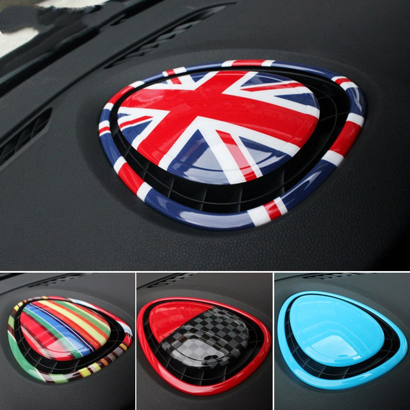 NEW! 2pcs/set car dashboard accessories interior covers For mini cooper f55 f56 styling new 2pcs for mini cooper accessories f54 f55 f56 carstyling door knob door handle shell covers decoration sticker union jack