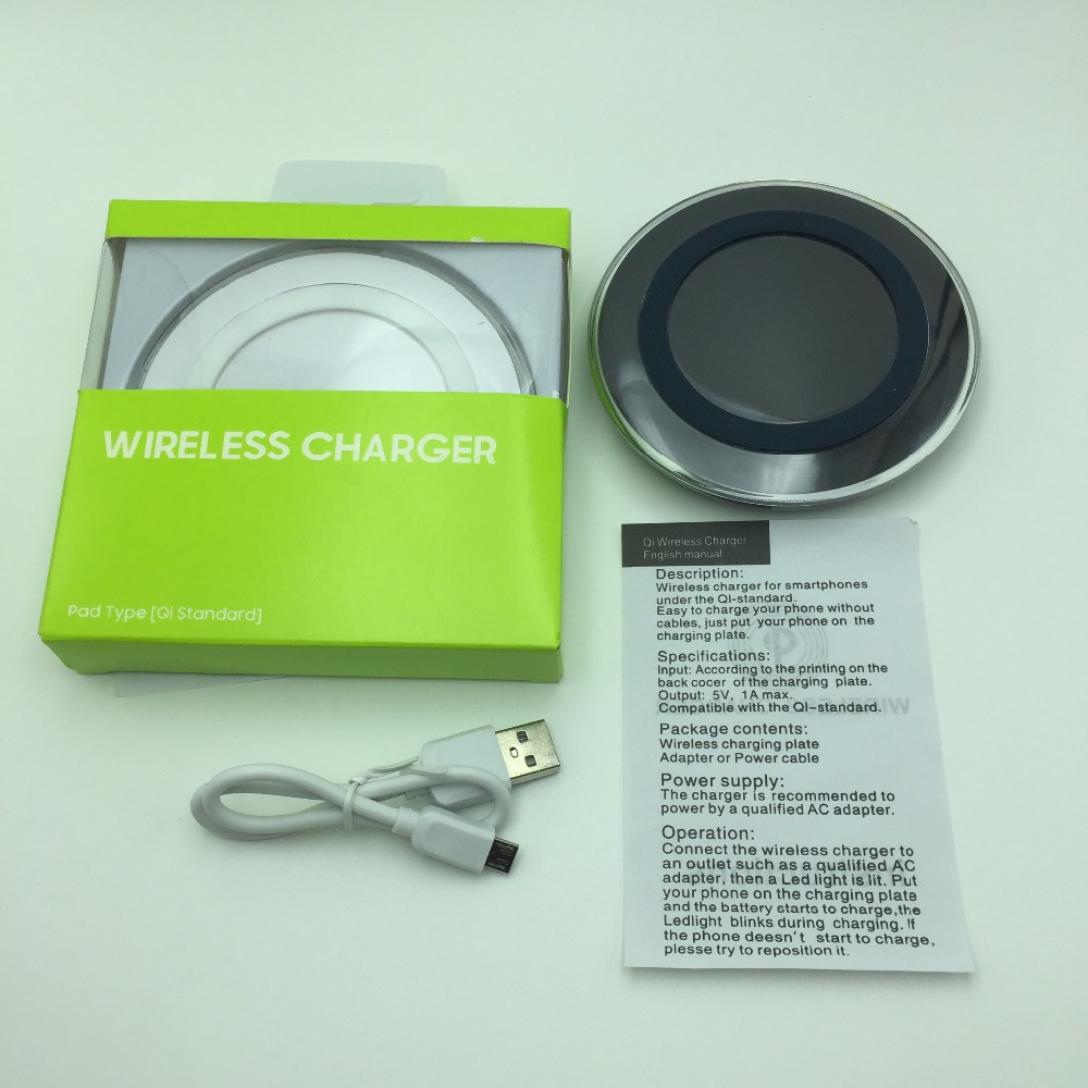 New QI Wireless charger F EP-PG920I Samsung Galaxy S6 S6 Edge S7 S7 Edge Note 5 S8 S8+ EP-PG920