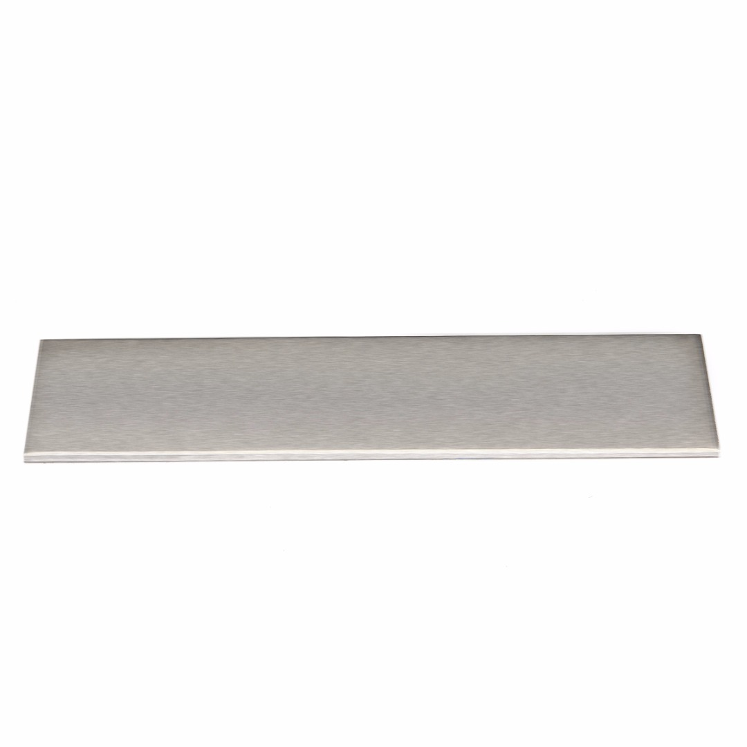 New 200x50x3mm 6061 Aluminum Silver Flat Bar Flat Plate Sheet 3mm Thickness Cut Mill Stock For DIY Industry Tools