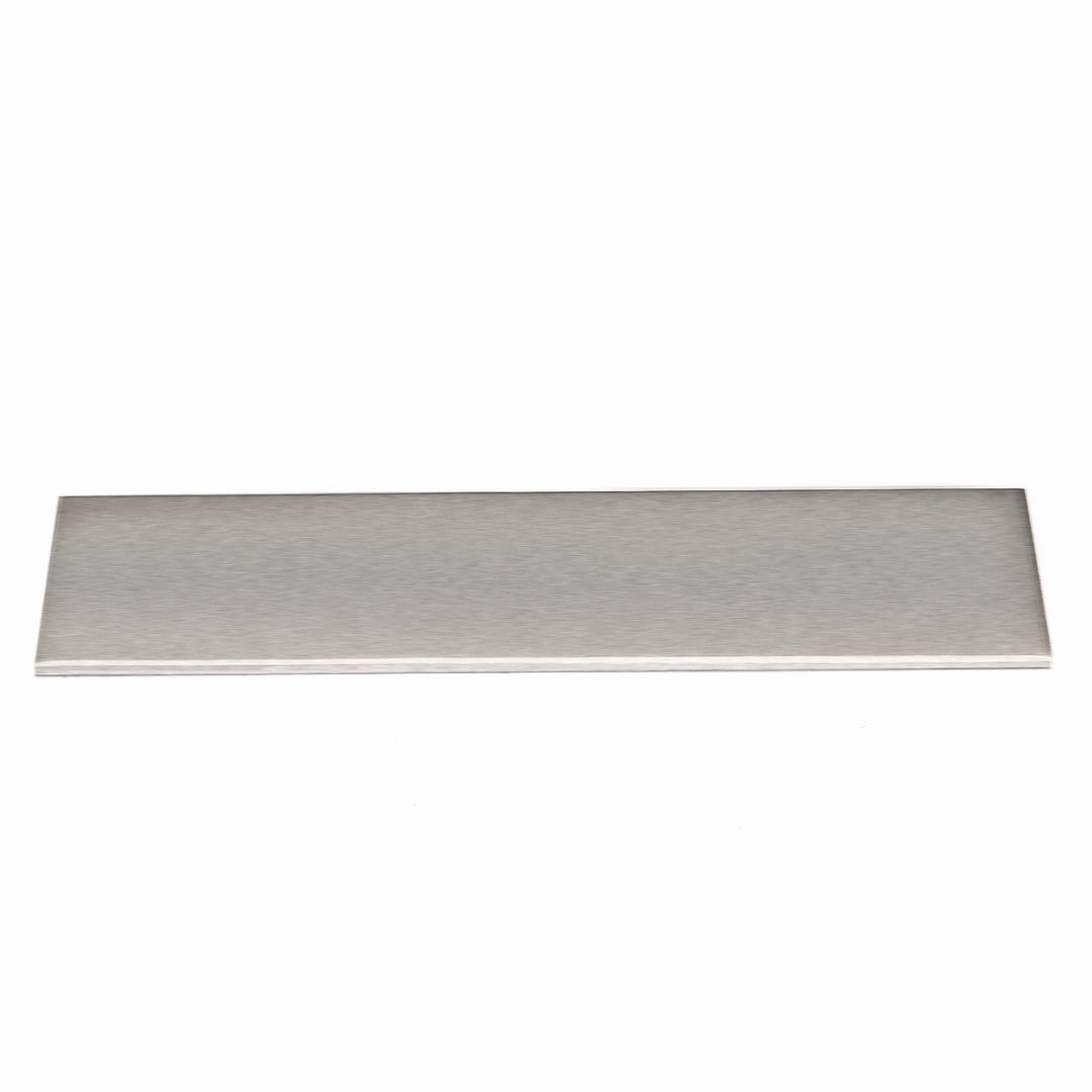 New 200x50x3mm 6061 Aluminum Silver Flat Bar Flat Plate Sheet 3mm Thickness Cut Mill Stock For DIY Industry Tools