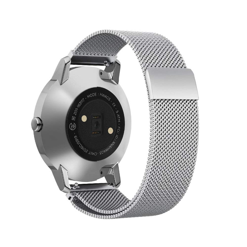 Ktab  Watch Band Compatible Withings Steel HR Tracker Milanese Loop Strap Stainless Steel Strap for Nokia Withings Steel HRKtab  Watch Band Compatible Withings Steel HR Tracker Milanese Loop Strap Stainless Steel Strap for Nokia Withings Steel HR