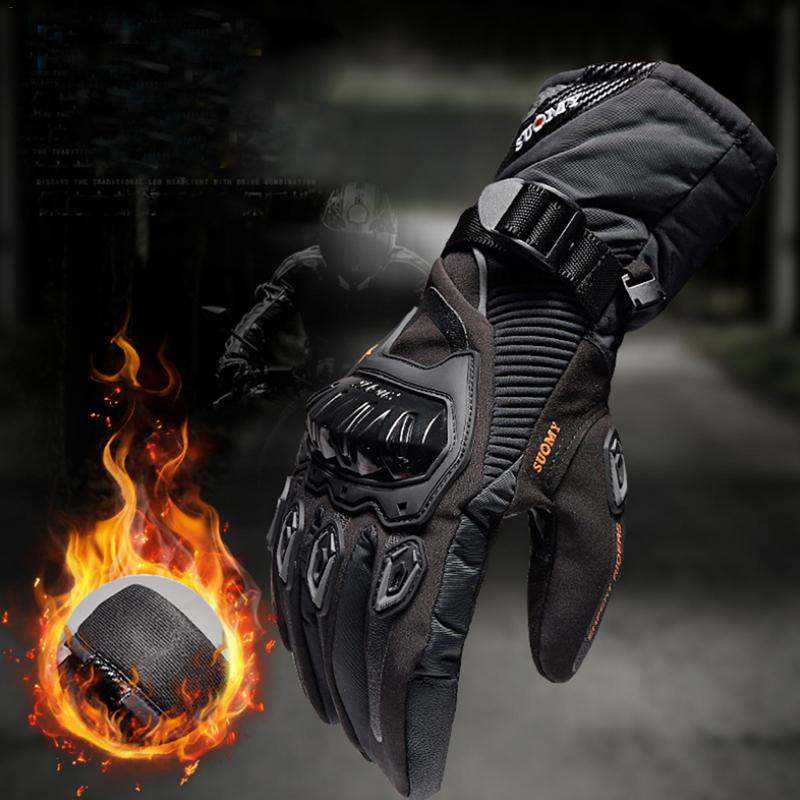 Image 5 - New Winter Motorcycle Gloves Waterproof And Warm Four Seasons Riding Motorcycle Rider Anti Fall Cross Country Gloves-in Gloves from Automobiles & Motorcycles