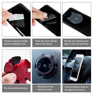 Магнитный автомобильный держатель для телефона Автомобильный держатель для мобильного телефона на 360 градусов вращающийся кронштейн GPS на...