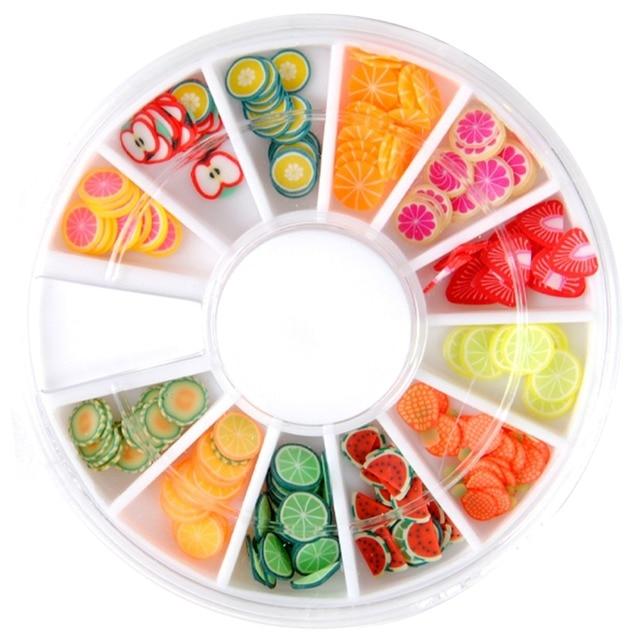 8 muster fr wahl aufkleber fr nagel tipps aufkleber 3d polymer clay fimo nail art dekoration - Muster Fur Nagel