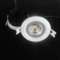 Free Shipping 5w 7w 9w 12w IP65 Waterproof COB LED Ceiling Down Light Round Recessed Led