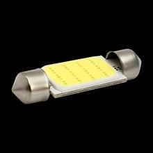 10pcs 39mm C5W C10W  SV8.5 12844 DE4410 Festoon COB led Car Licence Plate Light Auto housing Interior Dome lamps Reading Lights