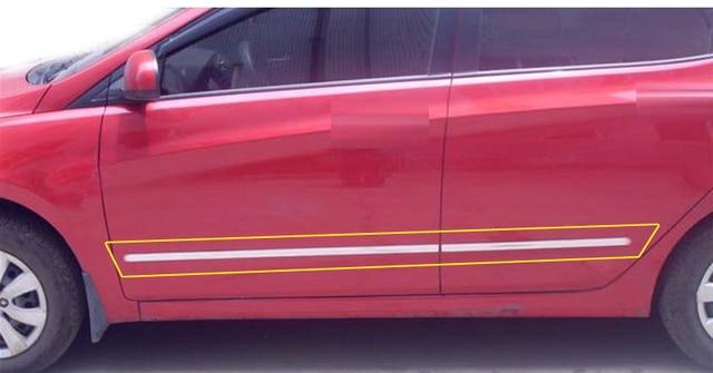 Car Body Trim Strips Door Side Moulding Trim for FORD FIESTA Styling Mouldings Body Decorative 4pcs  sc 1 st  AliExpress.com & Car Body Trim Strips Door Side Moulding Trim for FORD FIESTA Styling ...
