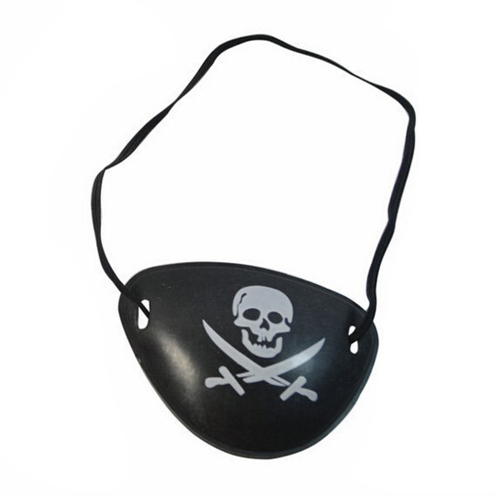 Plastic Skull Crossbone Pirate Eye Patch Black Party Favors Bag Halloween Birthday Party Costume Supplies-in Party DIY Decorations from Home & Garden ...