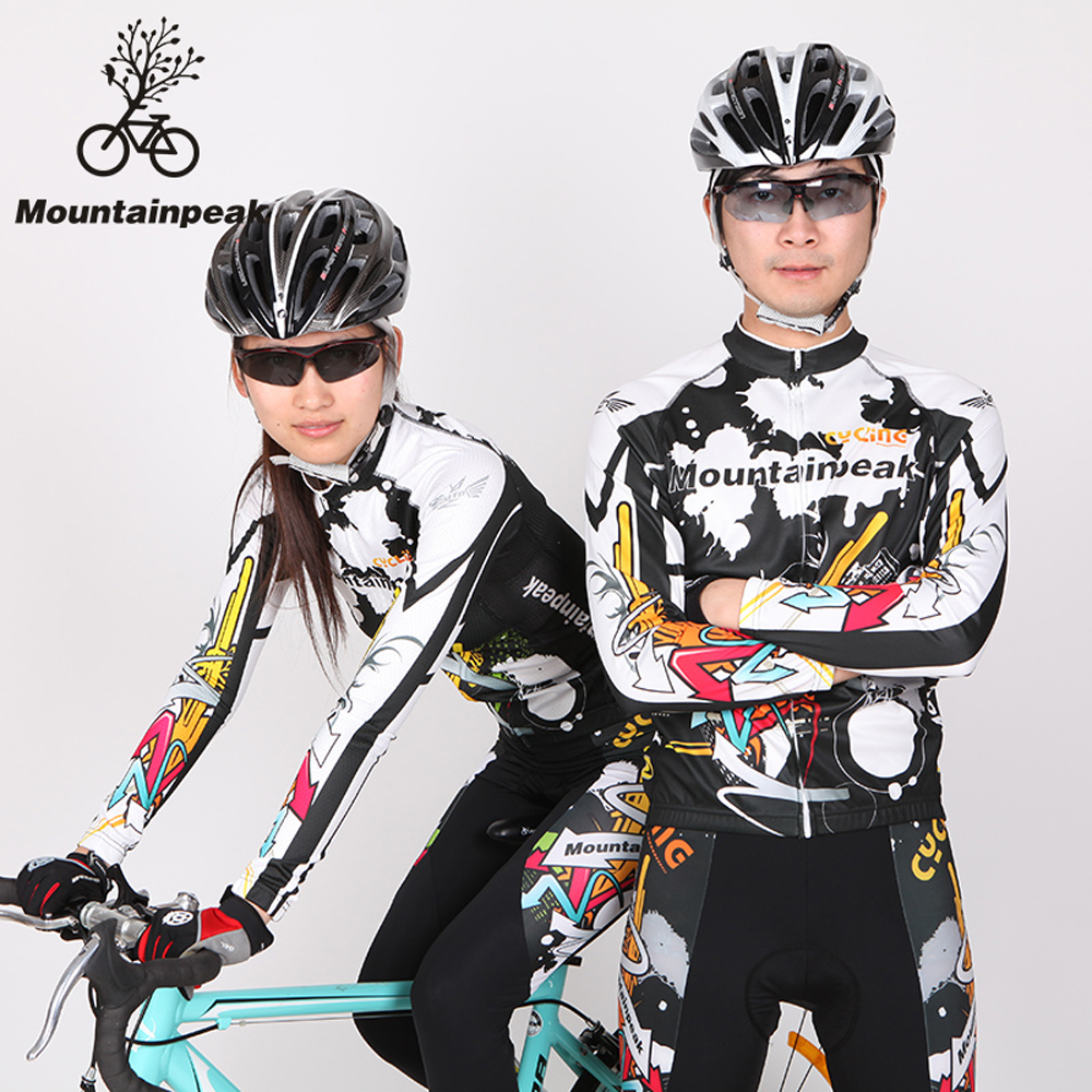 2017 Cycling Wear Cycling Clothing Cycling Jersey Sets Breathable Quick Dry Mountain Bike Sports Skinsuit For Bicycle Women Men bike team long sleeve breathable outdoor cycling sets 3d gel padded quick dry bicycle apparel clothing cycling jersey sets h021