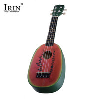 IRIN 21 Inch Ukelele 4 Strings Colorful Lovely Watermelon Hawaii Basswood Musical Acoustic Guitar For Kids Beginners Gifts