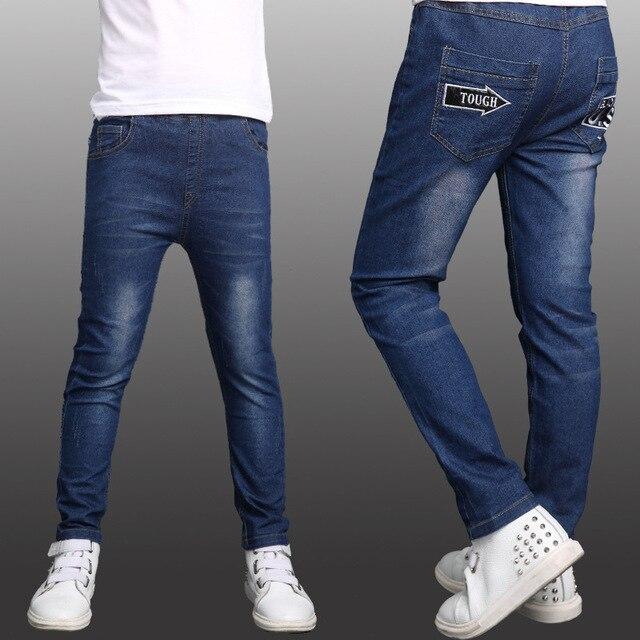 5 6 7 8 9 10 11 12 13 лет дети джинсы для мальчиков осень-подросток джинсы высокого качества для детских одежда