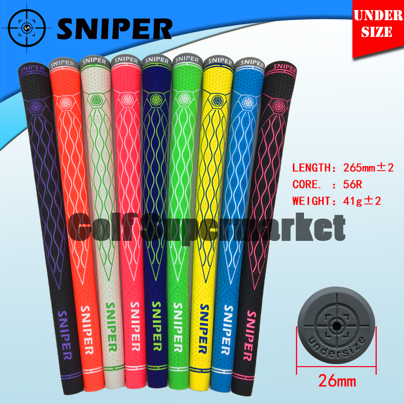 SNIPER UNDERSIZE 56R golf grip Exclusive sales Superior quality Anti slip wearAll weather grips 13pcs lot