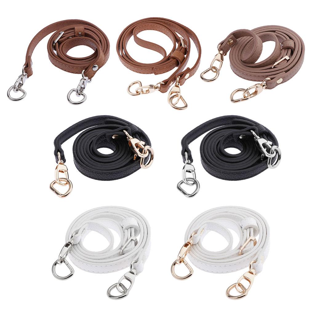 Leather Strap Adjustable Crossbody Bag Belt Replacement Handbag Purse Handle Bag DIY Accessories Bag Repair Making Supplies