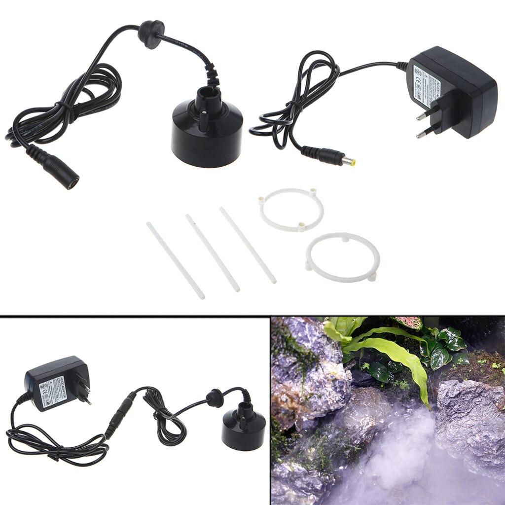1LED Super Ultrasonic Mist Creator Fogger Nebulizer Water Fountain Vaporizer  EU Plug