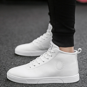 NORTHMARCH Leather Shoes Men High Quality High Top Sneakers Lace-Up Men Casual Shoes Breathable Flat Shoes Men Zapatillas Hombre