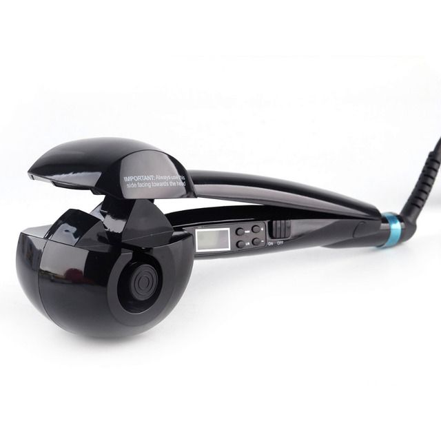 LCD Screen Automatic Hair Curler Heating Hair Care Styling Tools Ceramic Wave Hair Curl Magic Curling Iron Hair Styler 4