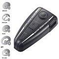 Casco de la motocicleta Headset 500 Metros Dedicada Bluetooth 3.0 FM Contestará Automáticamente la Música Intercomunicador Impermeable GPS