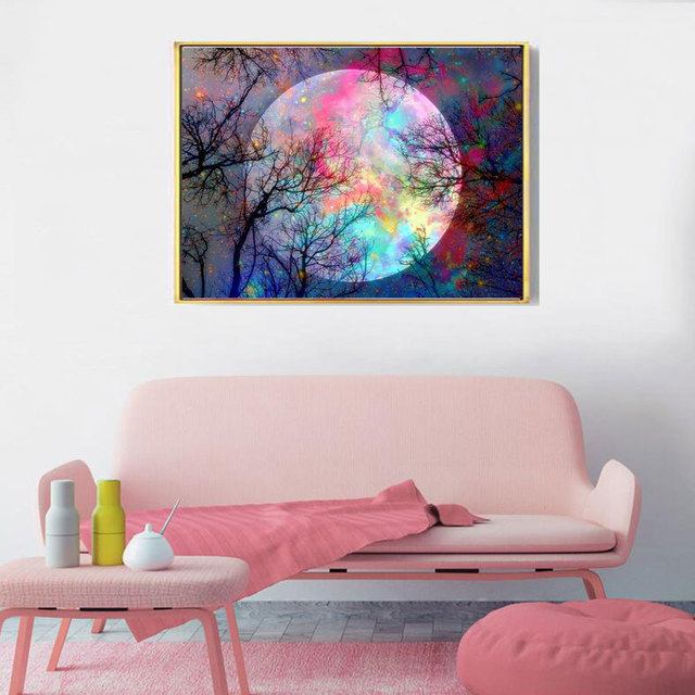 Moon Diamond Painting