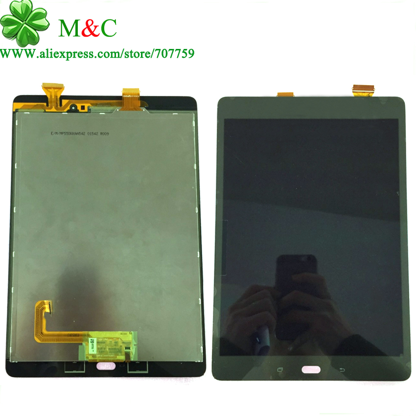 OEM P550 P555 LCD Touch Panel For Samsung Galaxy Tab A 9.7 P550 P555 LCD Display Touch Screen Digitizer Panel Free Track