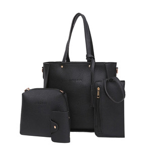 Women Bags Four Set Handbag Sh