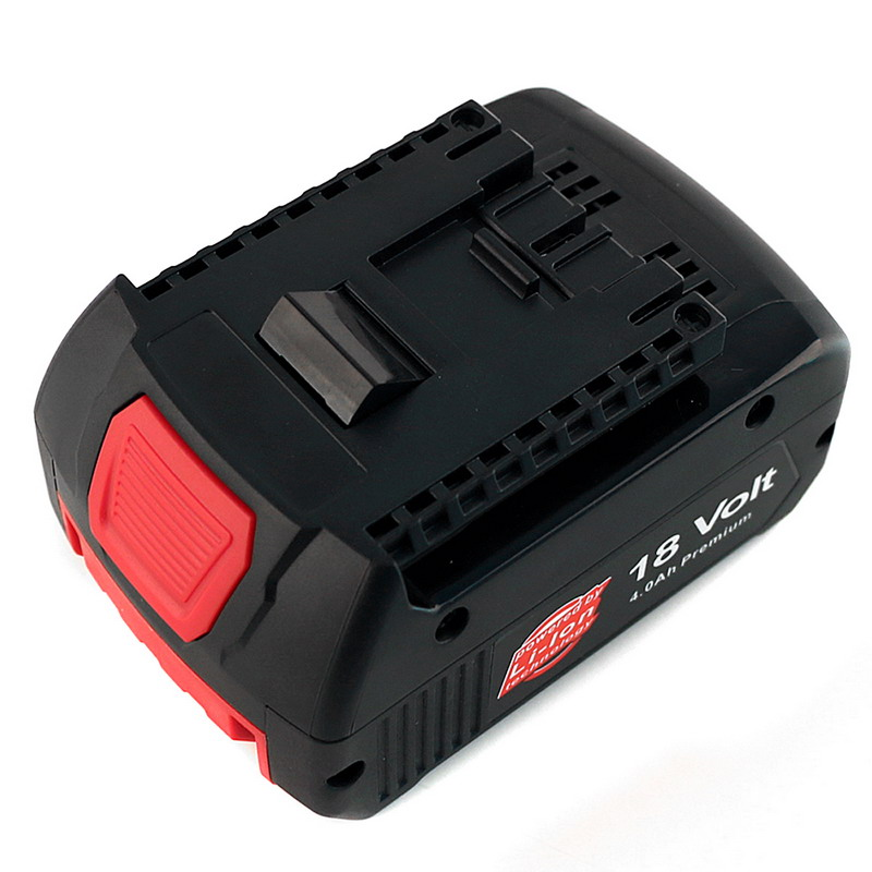 18V 4000 mAh Rechargeable Li-ion Replacement Battery BAT609 Power Tools for Cordless Drill for Bosch BAT618 T35 spare 2600mah 36v lithium ion rechargeable power tool battery replacement for bosch d 70771 bat810 2 607 336 107 bat836 bat840