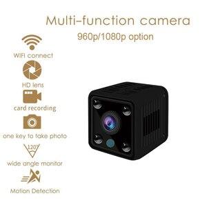 Image 5 - KONLEN ขนาดเล็ก Mini WiFi กล้อง IP ไร้สายแบตเตอรี่ 1080P HD P2P กล้องวงจรปิด Nanny Body CAM SD Home Security world Vision Monitor