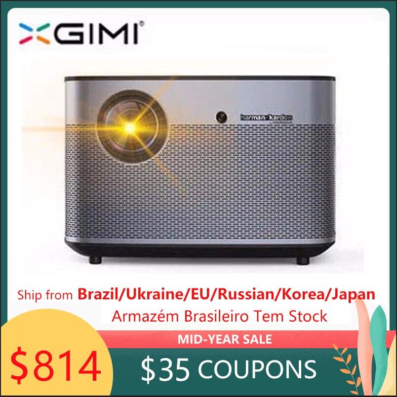 XGIMI H2 1920*1080 Suporte projetor dlp projetor Full HD 1350 ANSI lumens 3D 4 K Android Bluetooth wi-fi beamer