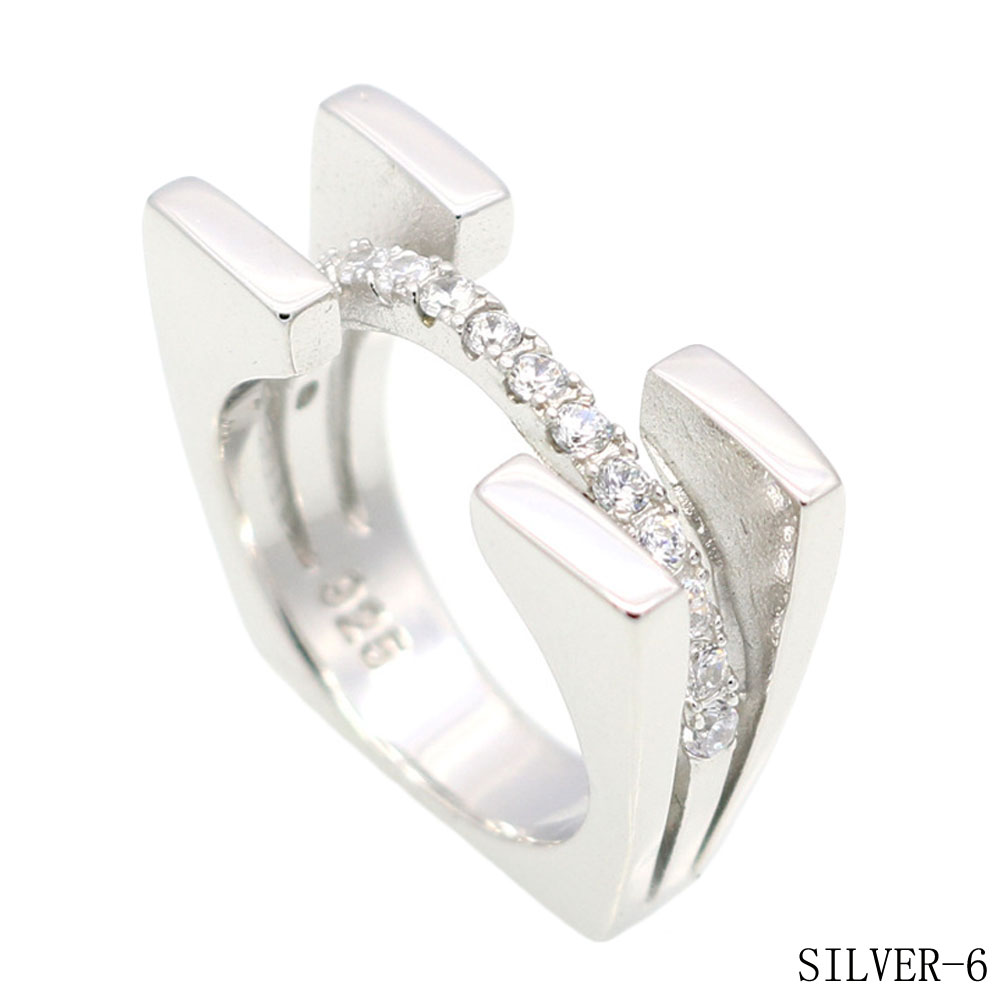 Attractive Design Ladies Crystal CZ Engagement Cocktail Ring for Women Zirconia Jewelry Large Finger Ring RG1460