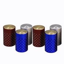 Xin jia yi упаковочные круглые серебряные жестяные пустые банки