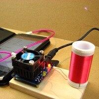 Music Tesla Coil Mini Plasma Loudspeaker Electronic Welding Kit