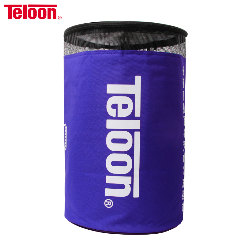 Teloon Tennis Balls Bucket Bag Thickened Single Shoulder Tennis Accessories Barrels Pack Easily Load 100 Balls Insulation Layer
