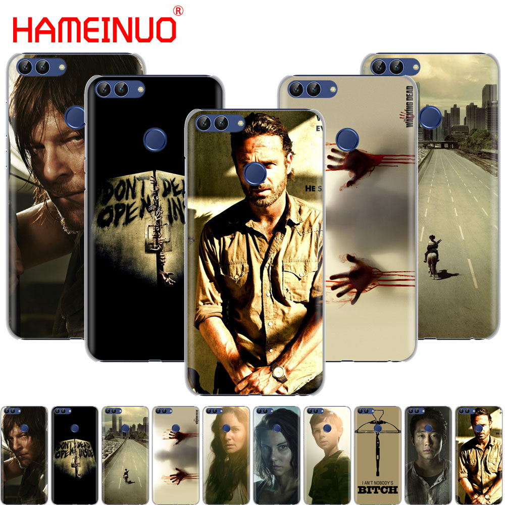 US $1 36 45% OFF|HAMEINUO walking dead cell phone Cover Case for huawei  Honor 7C Y5 Y625 Y635 Y6 Y7 Y9 2017 2018 Prime PRO-in Half-wrapped Cases  from