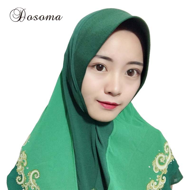Traditional & Cultural Wear Djgrster Stretchable Hijab Underscarf Cap Shawl Muslim Islim Scarf Inner Headband Hijab Polyester Fiber 15 Colors Wholesale Strong Packing