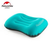 Naturehike TPU Press Type Self Inflatable Air Pillow Outdoor Travel Back Cushion Lumbar Waist Support Pillow Nect Protection