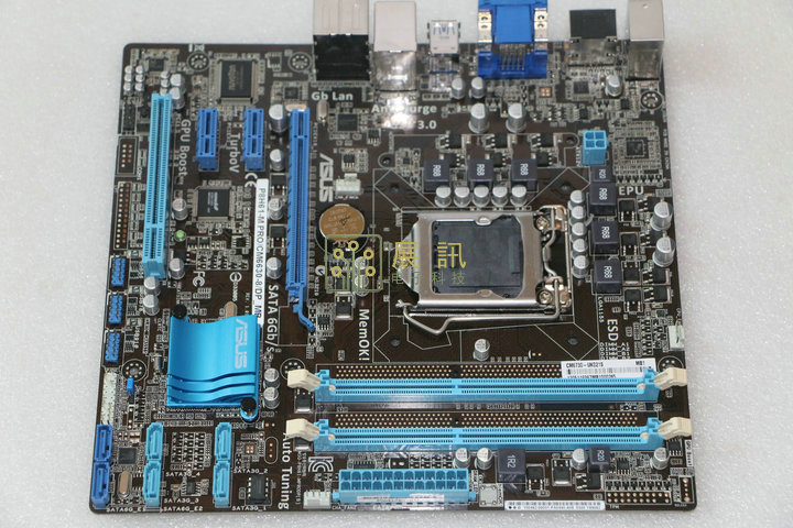 original motherboard for ASUS P8H61-M PRO/CM6630-8/DP_MB DDR3 LGA 1155 16GB USB2.0 USB3.0 H61 Desktop Motherboard free shipping original motherboard h61 plus boards lga 1155 ddr3 mainboard 16gb h61 desktop motherboard free shipping