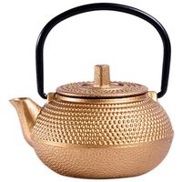Mini Japanese Style Cast Iron Tea Kettle Tetsubin Small Teapot Tea Pot 50ml  Easy to Carry
