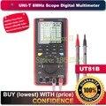 UNI-T UT81B 8 MHz 40 MS/s Taxa de Amostragem em Tempo Real-LCD Handheld Scopemeter Osciloscópio Multímetro Digital