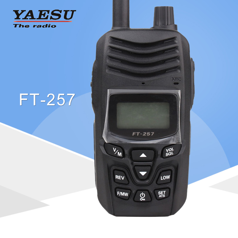 General Walkie Talkie For YAESU FT-257 Dual-Band 400-480MHz FM Ham Two Way Radio Transceiver Yaesu FT-257 Radio